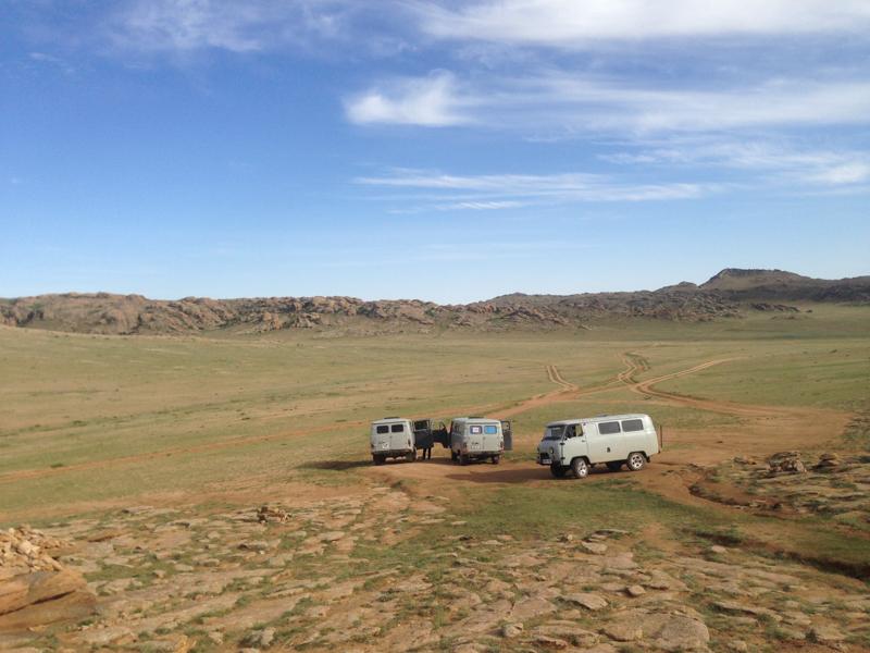 mongolsko doprava