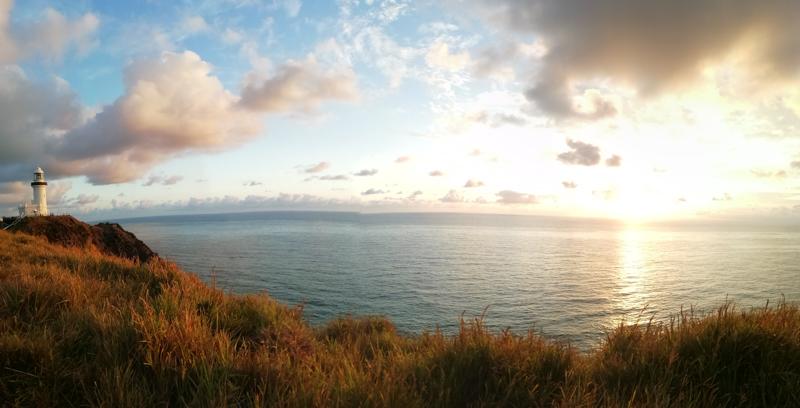 austrálie východ slunce