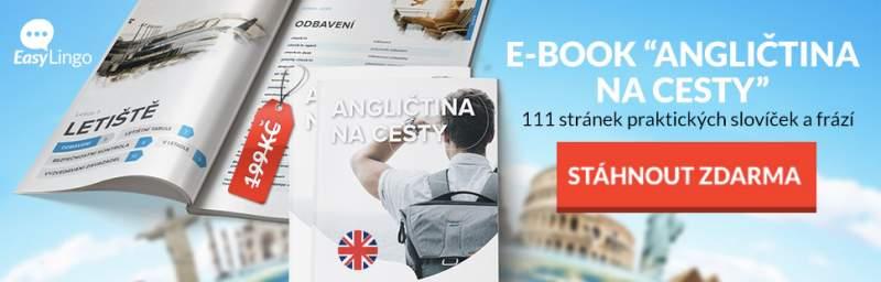 e-book angličtina na cesty