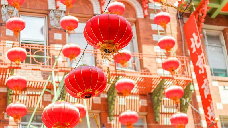 čínská čtvrť San Francisco