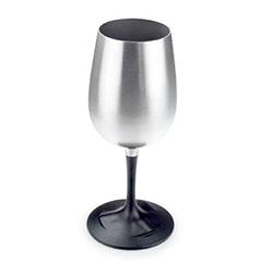 skládací sklenice na víno nerezová