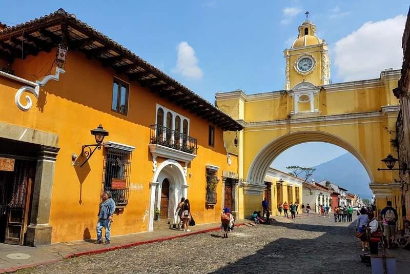 město guatemala
