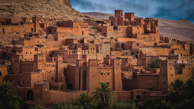 historické město maroko