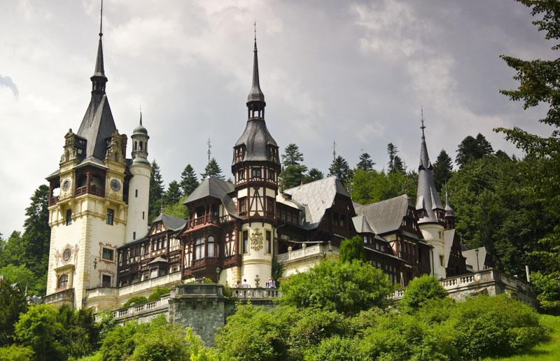 hrad rumunsko