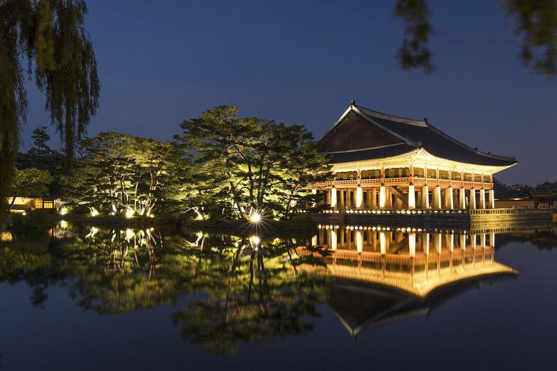 chrám jižní korea