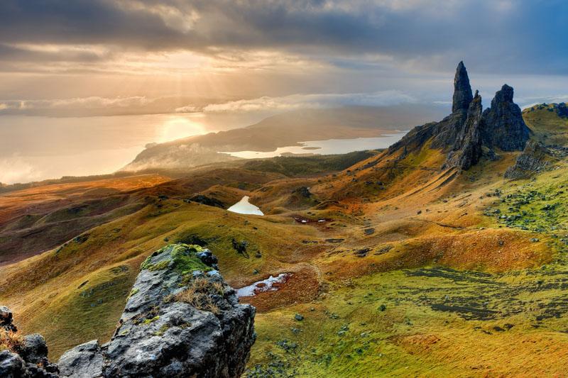 příroda skotsko