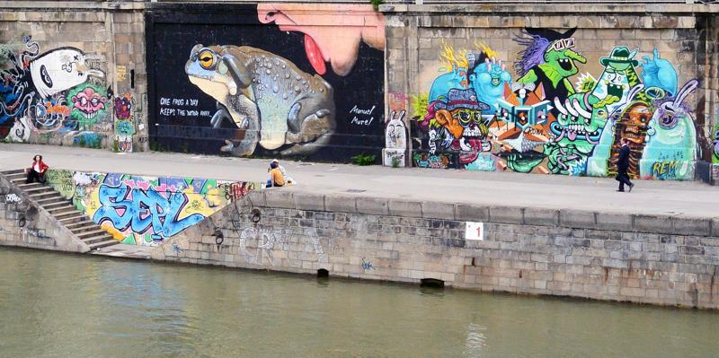 Donaukanal Vídeň