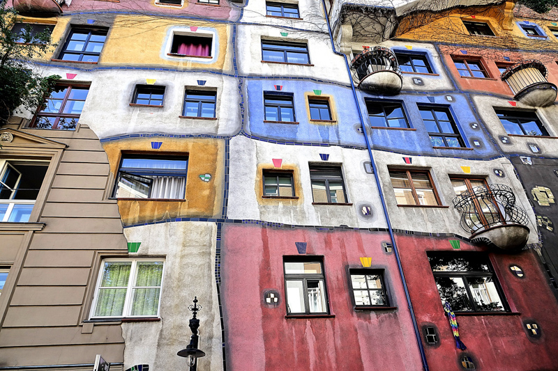 Hundertwasserhaus Vídeň
