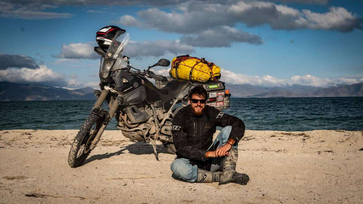<b>Ondra Vlk: Na motorce na Sibiři, nedosažený Magadan a zázraky na cestách</b>