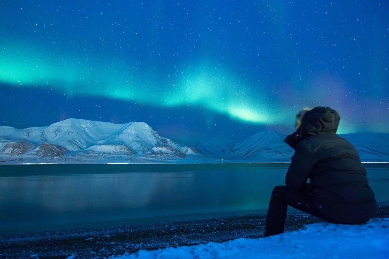aljaška polární záře