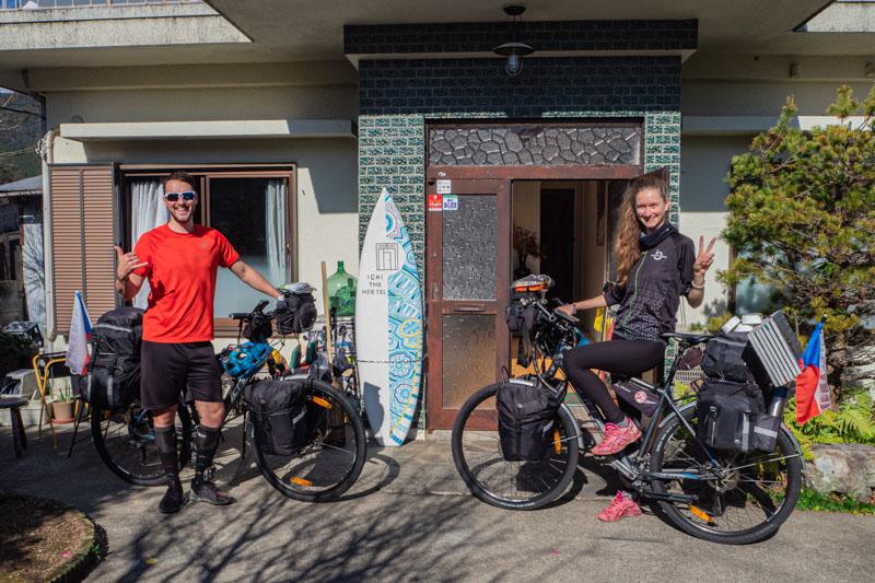 expedice na kole po Japonsku