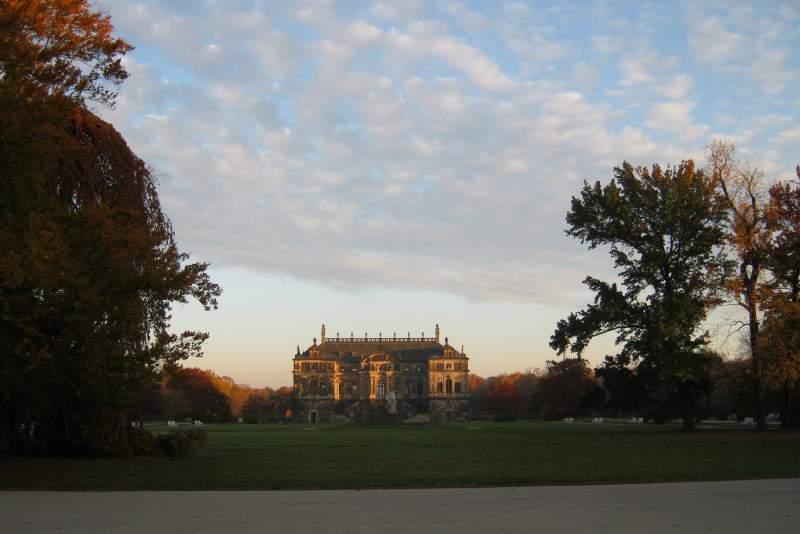 Palác v parku Grosser Garten