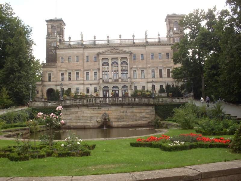 Labský zámeček Albrechtsberg