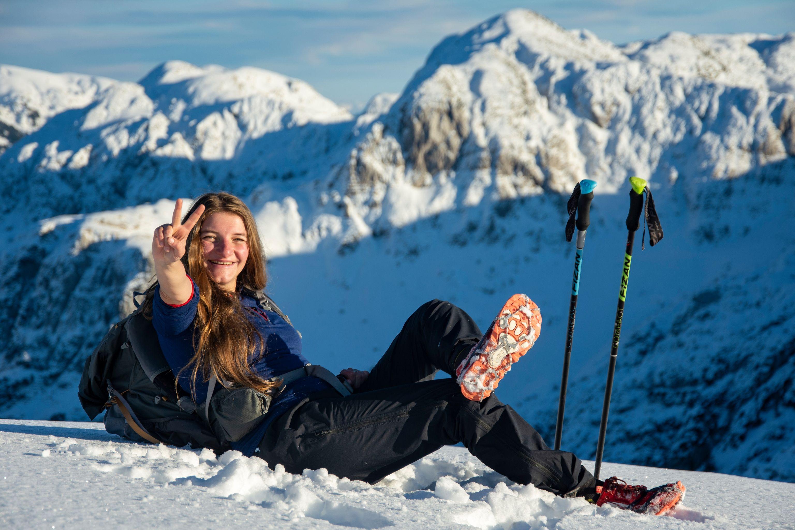 <b>Viktorka Hlaváčková: Pěší putování, hory a nekonečno</b>