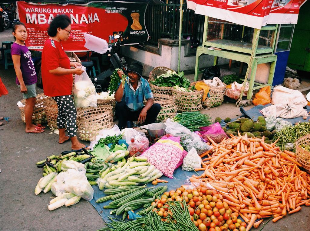 Trh na Jávě